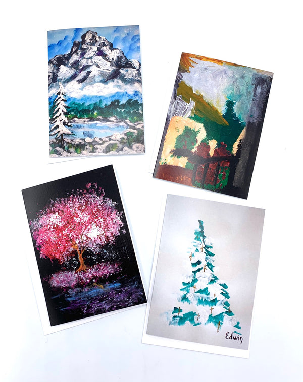 Poverty and the Arts Greeting Card Set