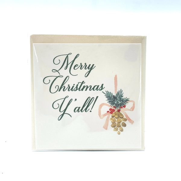The Dotted Line Small Holiday Tag