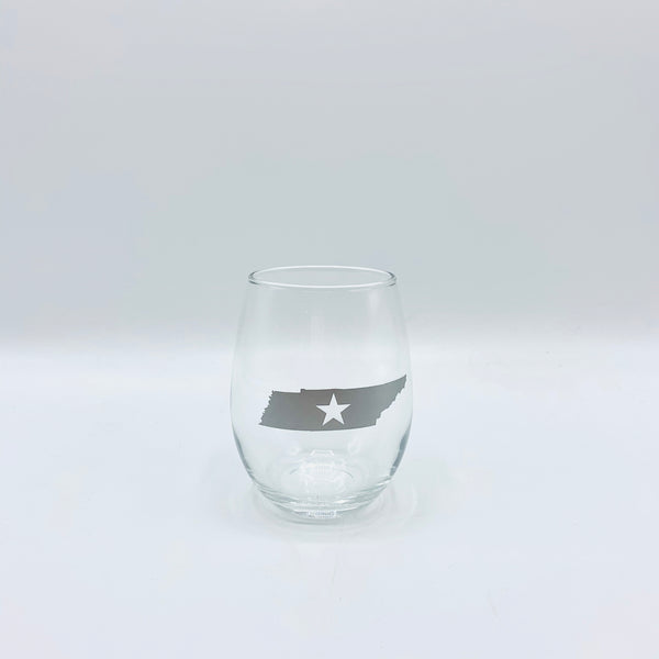 Batch Tennessee Star Stemless Wine Glass