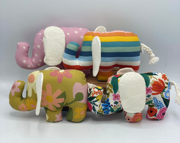 Oh Just Dandy Elephant Rattle