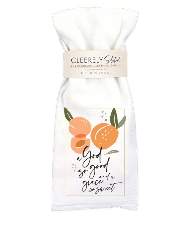 Cleerly Stated Kitchen Towels