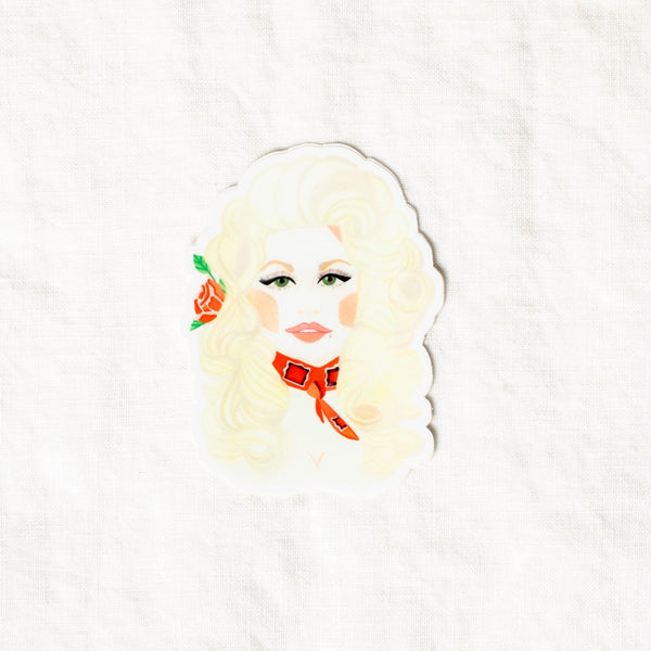 Slow as Folk Dolly Sticker