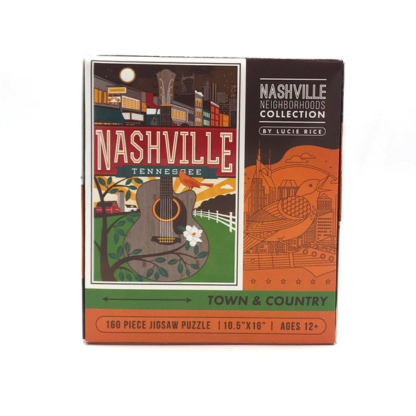 Spirit of Nashville 160-piece Puzzle
