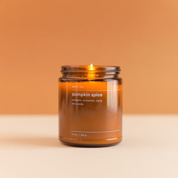 Gold & Ivy Soy Candle Standard