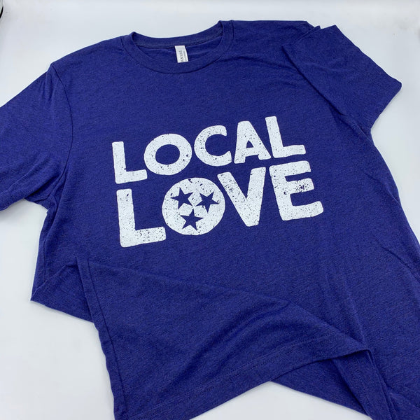 Batch Local Love Navy Heather T-Shirt