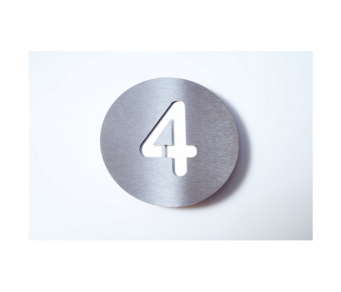Radius House Numbers
