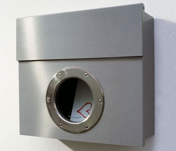 Wall Mount Letterman 1 Mailbox