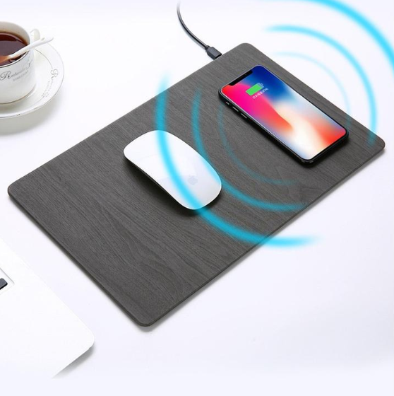 Wireless charger mouse pad all aluminum alloy