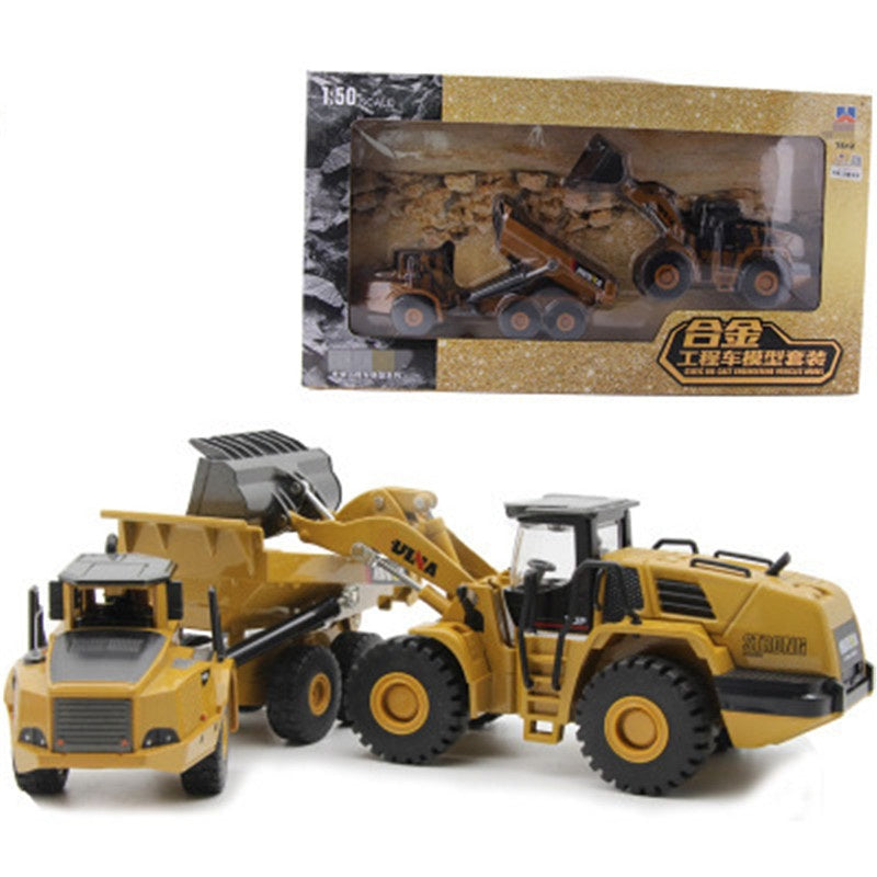 Full alloy excavator model