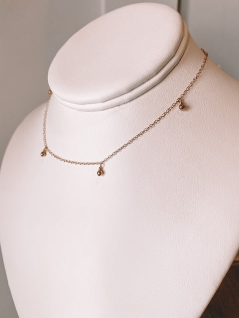 Meadow Necklace- Rose Gold