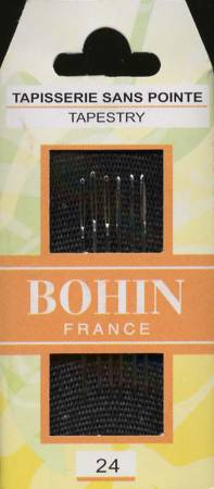 Bohin Tapestry Needles Size 24 # 00836 Made in France
