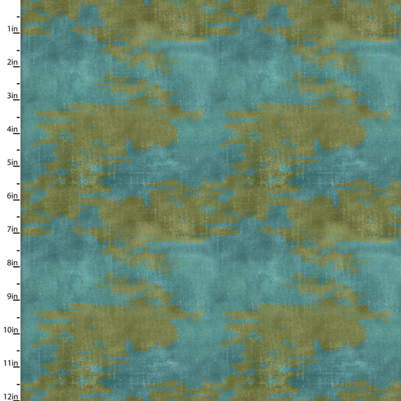 Camouflage Quilting Fabric from The Great Outdoors Collection by Connie Haley from 3 Wishes, 16036-BLU-CTN-D