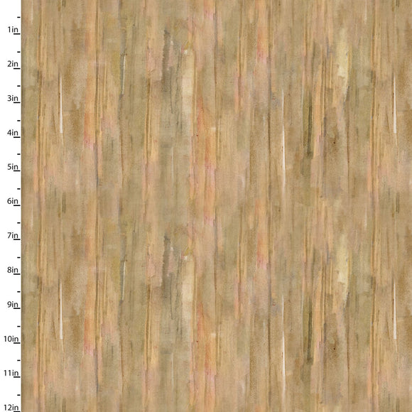 Barn Wood Quilting Fabric from the Sunflower Stampede Collection by John Keeling from 3 Wishes, 16596-TAN-CTN-D