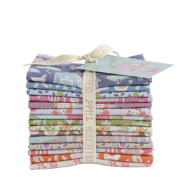 Fabric, 15 Fat 1/8s bundle from Tilda, Tiny Farm Collection 300084