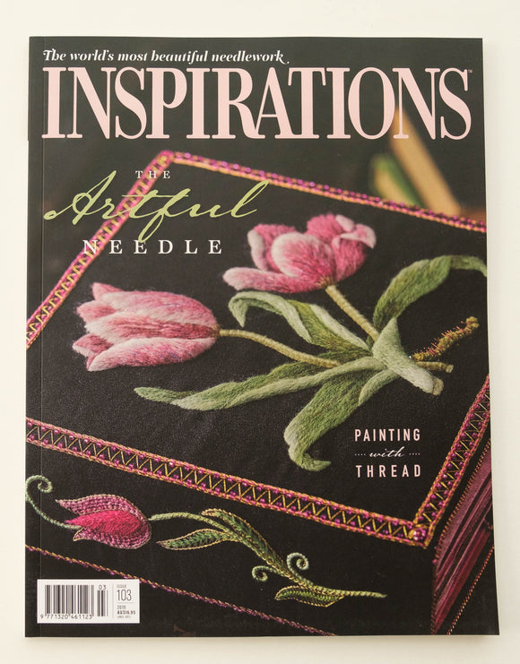 Inspirations - Embroidery Magazine from Australia, Issue#103