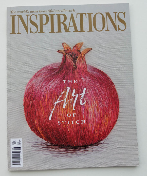 Inspirations - Embroidery Magazine from Australia, Issue#106