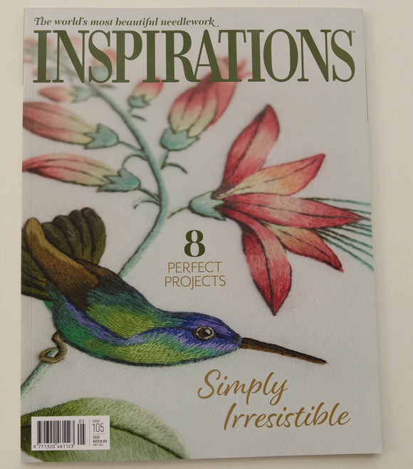 Inspirations - Embroidery Magazine from Australia, Issue#105