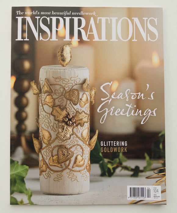 Inspirations - Embroidery Magazine from Australia, Issue#104