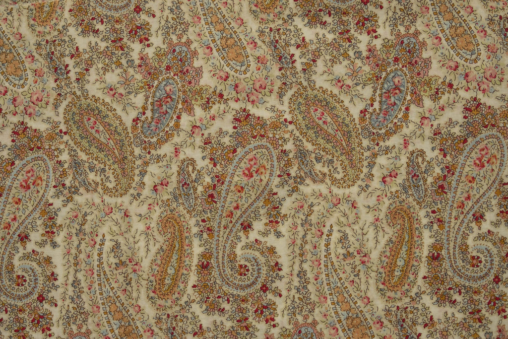Fabric Memoire a Paris Basic 2019 from Lecien Pattern 40962-10 Paisley