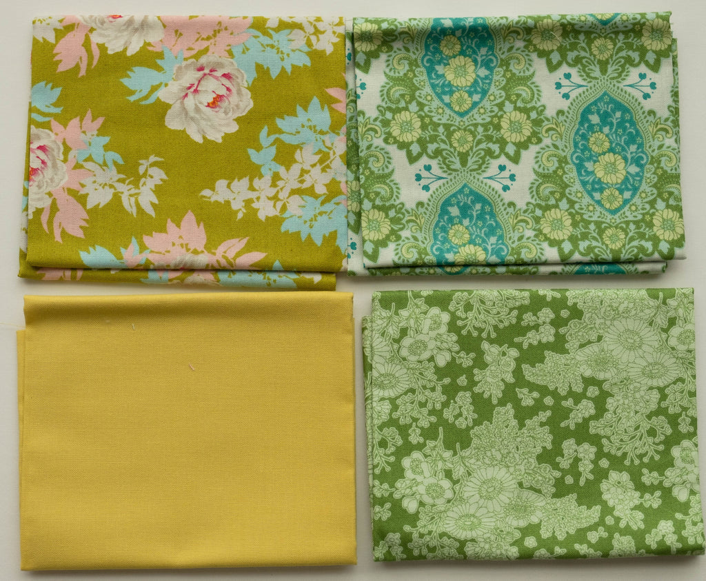 Fabric,  4 Fat 1/4s bundle from Tilda, Sunkiss Collection