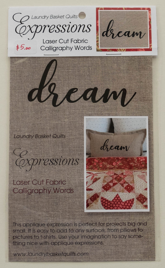 Expressions DREAM by Edyta Sitar from Laundry Basket Quilts, LBQ-0714-E