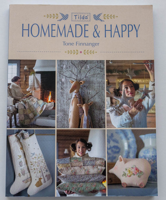 Tilda Homemade and Happy Book by Tone Finnanger T6603