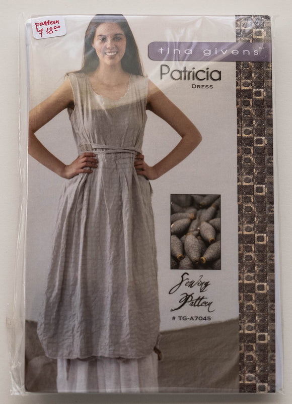 Patricia Dress Sewing Pattern by Tina Givens TG-A7045