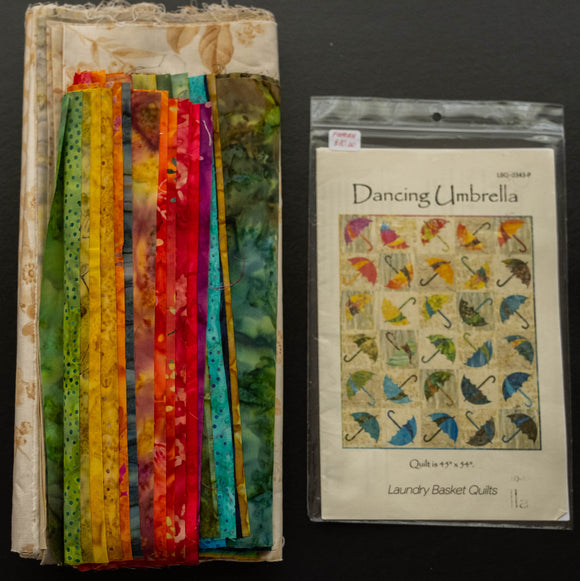 Dancing Umbrella FABRIC SET by Edyta Sitar from Laundry Basket Quilts