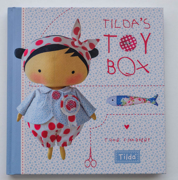 Tilda's Toy Box Book by Tone Finnanger, S6899