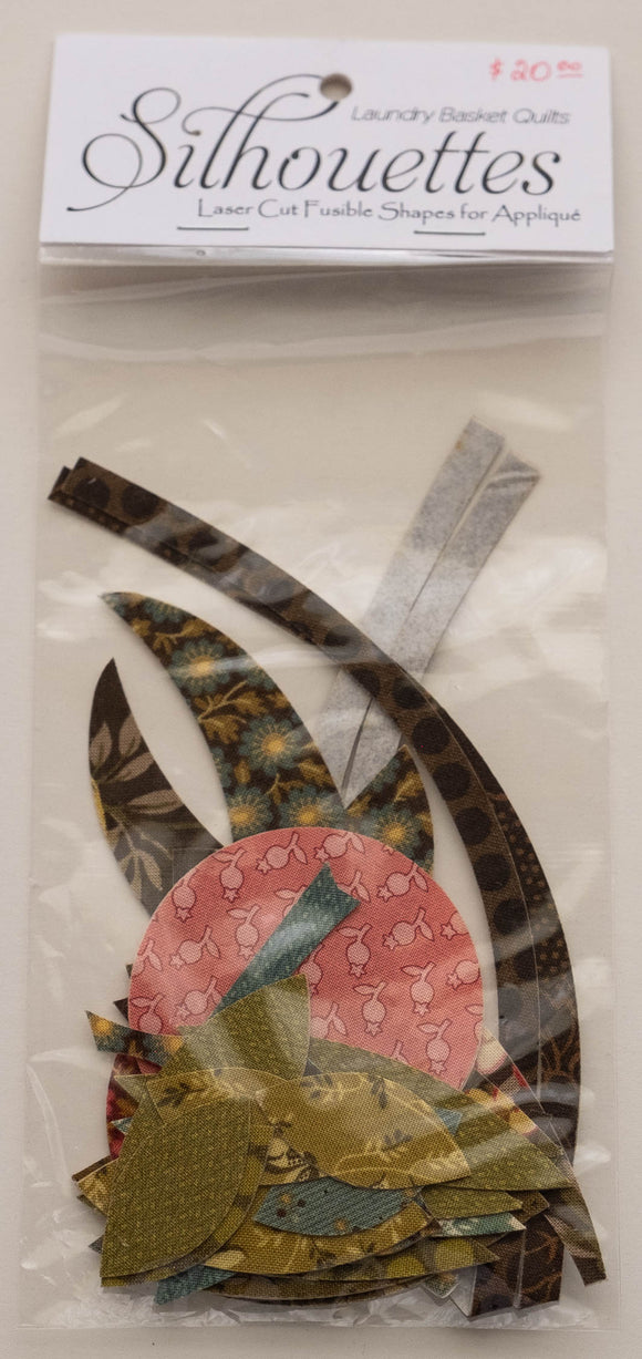 Edyta Sitar Scrappy Basket Silhouettes by Laundry Basket Quilts, LBQ-0363