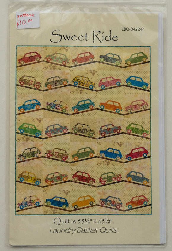 Sweet Ride Quilt Pattern by Edyta Sitar from Laundry Basket Quilts, LBQ-0422-P