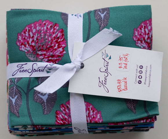 Fabric, 16 Fat 1/4 s bundle from Free Spirit Fabrics, Conservatory Collection, by Anna Maria Horner. FB1FQAM.CINEM
