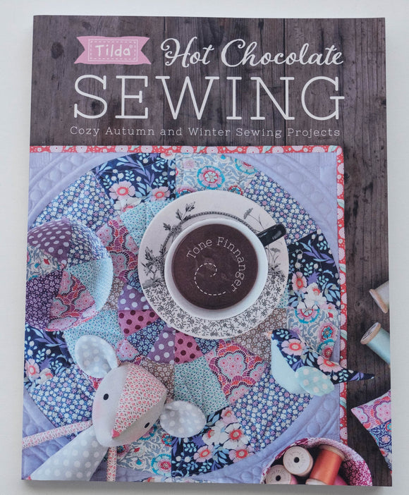 Tilda Hot Chocolate Sewing Book by Tone Finnanger R8543