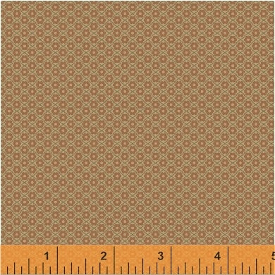 French Armoire, Worn and Loved Quilting Fabric from L'Atelier Perdu for Windham Fabrics, 51553-6, Russet
