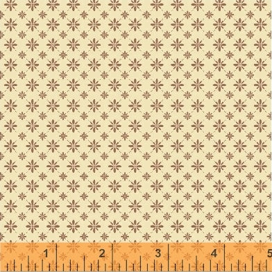 French Armoire, Sunday Dress Quilting Fabric from L'Atelier Perdu for Windham Fabrics, 51554-6. Russet