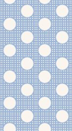 Fabric from Tilda, DOTs Collection, Medium Dots Blue 130002