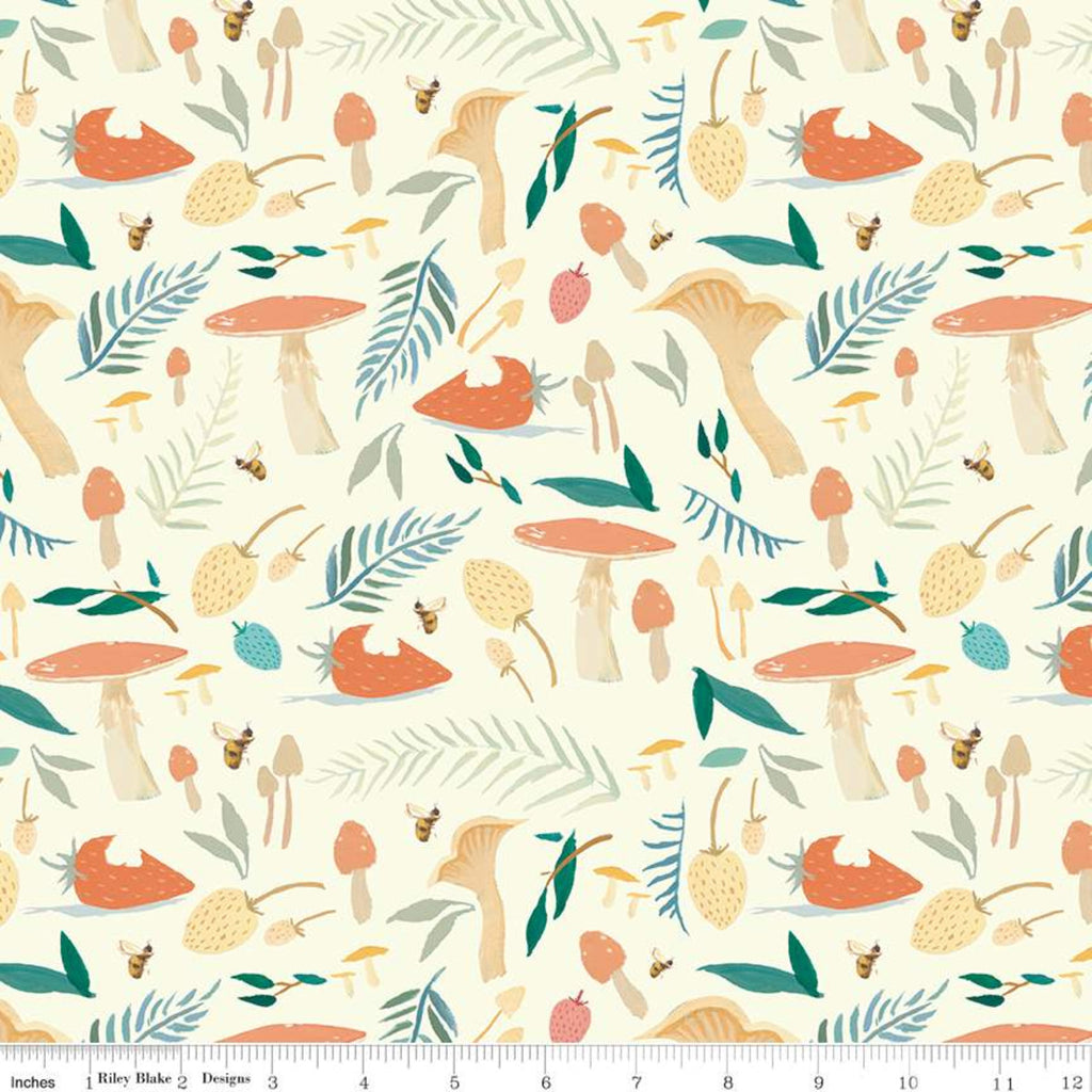 C9081-CREAM Quilting Fabric by Emily Winfield Martin from the Dream World Collection from Riley Blake Designs