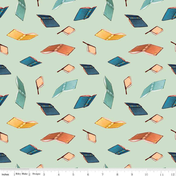 C9082-MINT Quilting Fabric by Emily Winfield Martin from the Dream World Collection from Riley Blake Designs