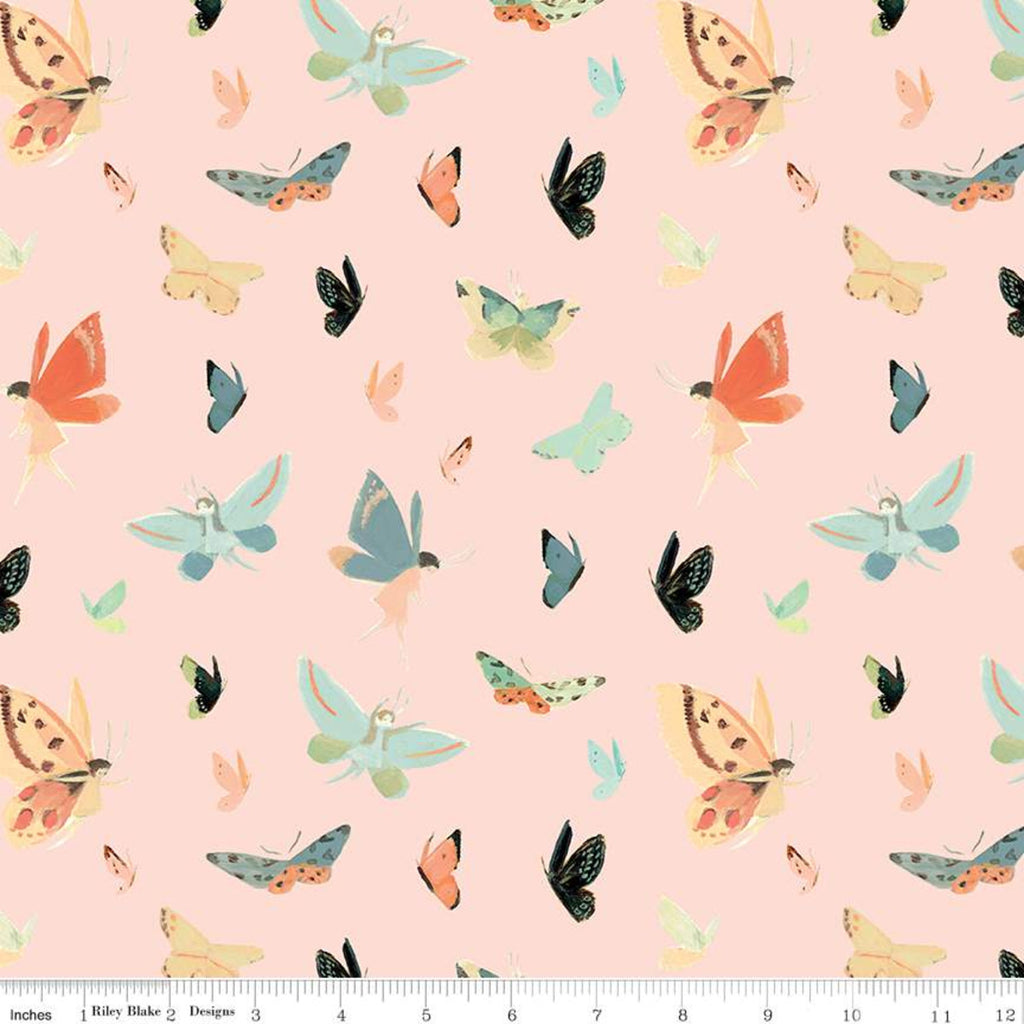 C9084-PINK Quilting Fabric by Emily Winfield Martin from the Dream World Collection from Riley Blake Designs