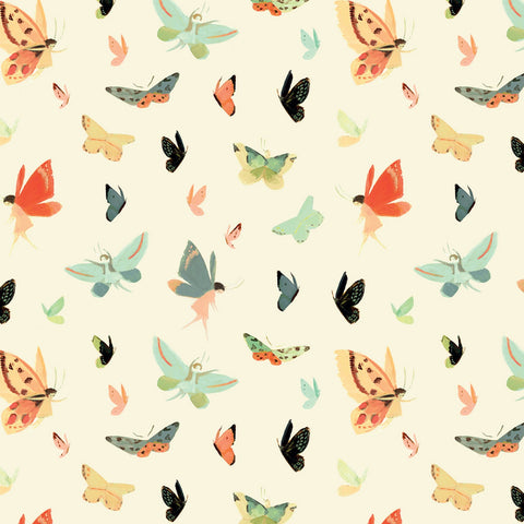 C9084-CREAM Quilting Fabric by Emily Winfield Martin from the Dream World Collection from Riley Blake Designs