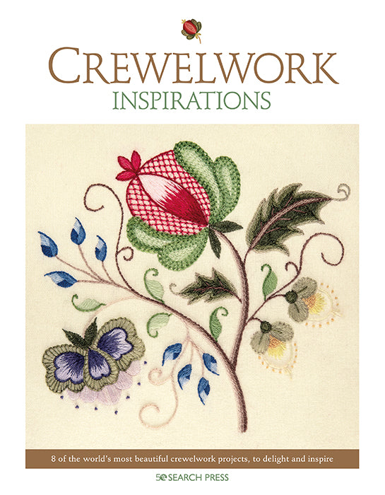Crewelwork Inspirations - Embroidery Book from Australia SP8333