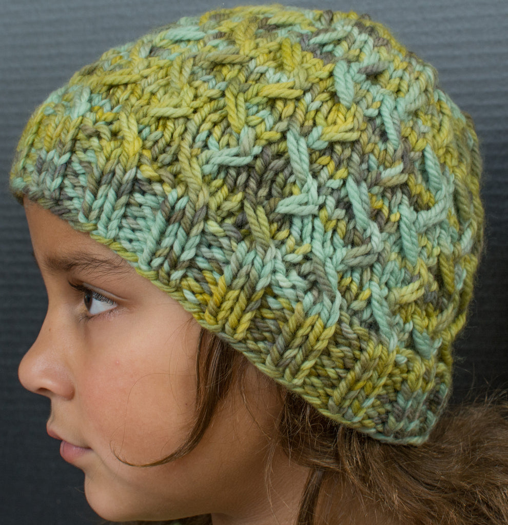 Knitted Hat Mariposa