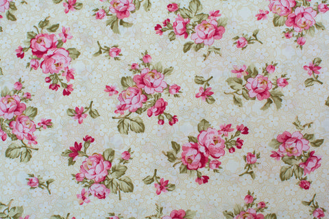 Quilting Fabric Rosemont Gazebo by Benartex Style # 02281