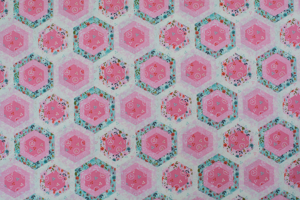 Quilting Fabric Beautiful Garden Girl by Studio E Style # 2185
