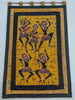 Wall Piece Tribal Dance Party Quilted