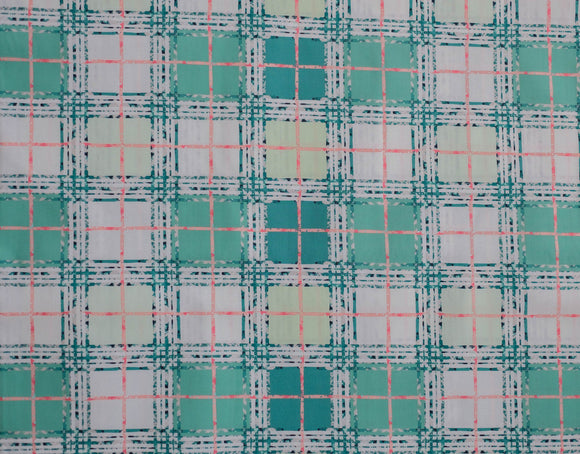 Fabric Trellis Plaid from Art Gallery, Lavish Collection LAH-26811
