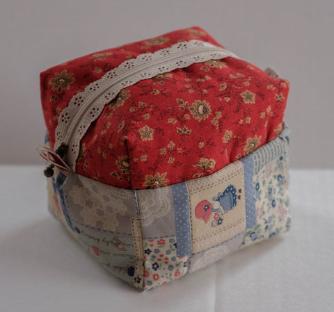 Very Roomy Cosmetic Bag, Quilted