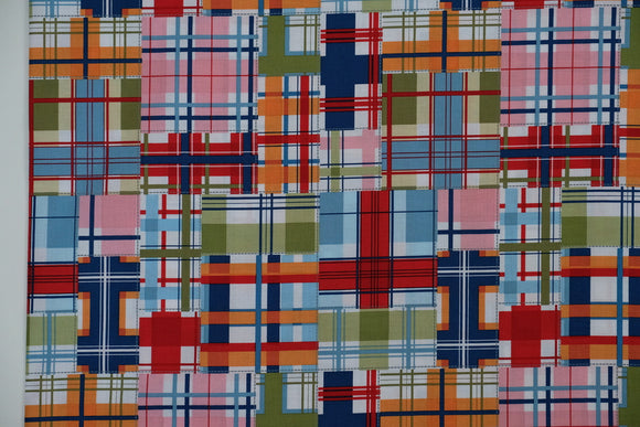 Fabric Madras Patch from Michael Miller, Seas Collection DC5609-SEAS-D