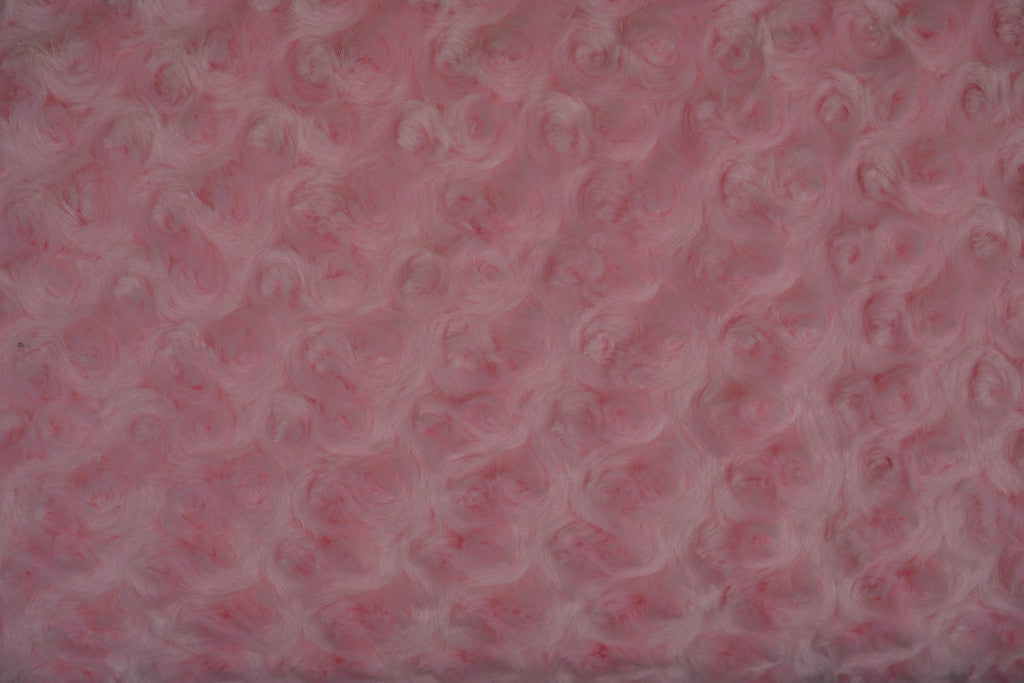 Shannon Fabrics Rose Cuddle, 58-60# wide, Cotton Candy