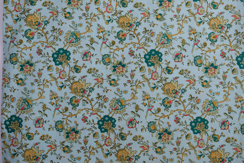 Fabric Palampore from Village Garden Collection by Kaye England from Wilmington prints, 1803 98588 454